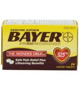 Bayer Aspirine Anti douleur 325mg, 24 Caps