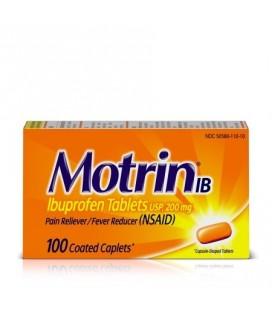 Motrin IB Ibuprofen des douleurs et soulagement de la douleur 100 Count