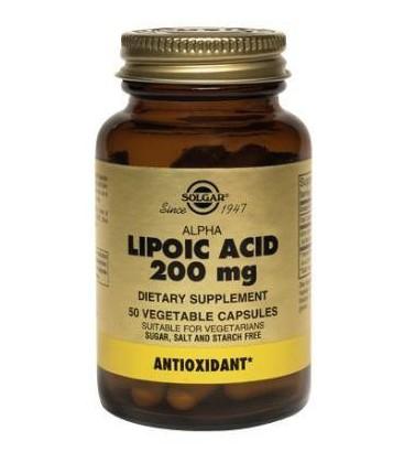 Acide Alpha Lipoïque 200 mg 50 capsules vegan