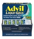 Advil Liqui-Gels anti-douleur - fièvre réducteur liquide rempli Capsule 200 mg Ibuprofen (50 paquets de 2 capsules)