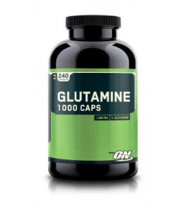 Optimum Nutrition Glutamine 1000mg, 240 Capsules
