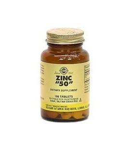 Zinc 50mg - 100 - Tablet