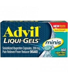 Advil Liqui-Gels Minis 160 Ct
