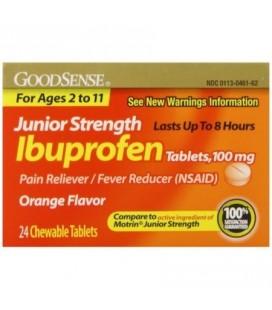 Good Sense Force junior Ibuprofen-douleur - fièvre Réducteur de comprimés 100 mg 24 ch