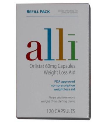 Alli - Recharge 120 capsules