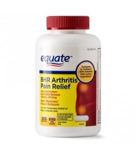 Equate arthrite soulagement de la douleur à libération prolongée Caplets 650 mg (Choisissez votre comte)