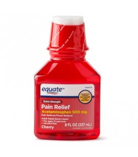 Equate à l'Acetaminophen saveur cerise 500 mg, 237ml