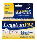 Legatrin PM ™ Analgésique - Sleep Aid Caplets 50 ct Box