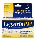Legatrin PM ™ Analgésique - Sleep Aid Caplets 50 ct Box