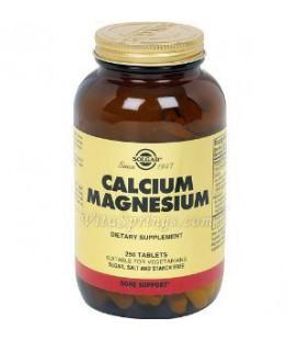 Calcium Magnesium 250 Tabs 2-Pack