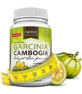 Pur Garcinia Extrait - 95% Capsules HCA - Le meilleur poids supplément de perte - non OGM - sans gluten et Gélatine Gratuit -