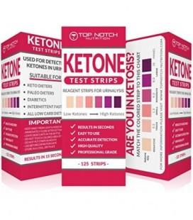 Cétonique bandelettes de test pour les niveaux d'essai Cétose en 15 secondes à l'aide Urinalysis. Résultats précis pour vous gar