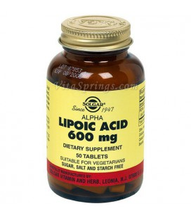 Solgar - Alpha Lipoic Acid, 600mg, 50 tablets