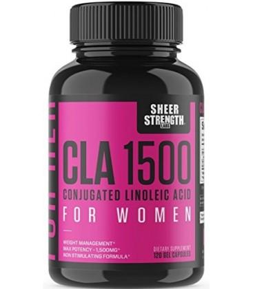 Extra Strength CLA pour les femmes - 1500mg Suractivé naturel perte de poids supplément - Conjugué acide linoléique de carthame