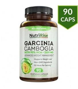 Pur Garcinia extrait avec 95% HCA Pour rapide Fat Burn. Meilleur Appétit et Carb Blocker. Naturel, Cliniquement