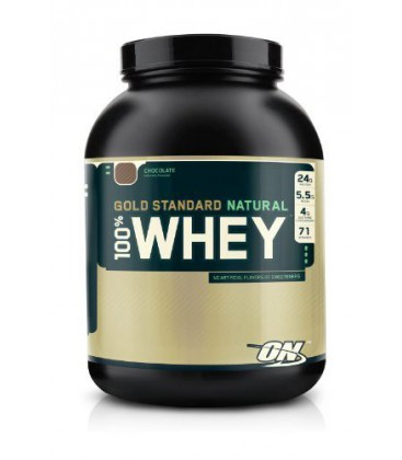 Optimum Nutrition 100% Whey Gold Standard Natural Whey, gout chocolat 2270gr