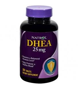Natrol DHEA 25mg, 300 Tablets