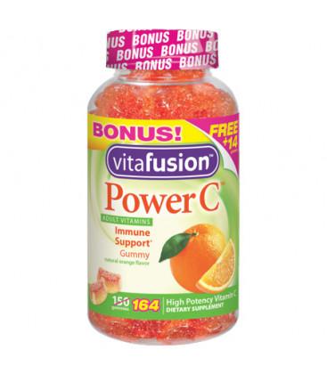 Vitafusion Power C adulte vitamine C gélifiés Orange 240 mg 164 caps
