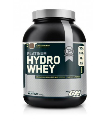 Optimum Nutrition Platinum Hydro Whey, Turbo Chocolat 1590gr