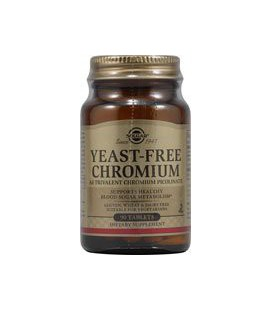 Solgar - Yeast Free Chromium, 90 tablets