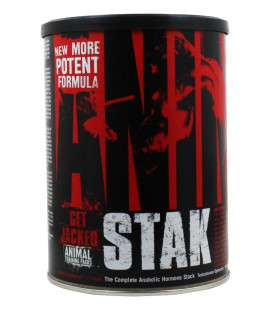Universal Nutrition Animal Stak Test Pack Booster - Anabolic Supplément Gainer 21 Ct