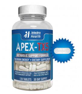 Metabolic APEX-TX5 Support Formula de complément alimentaire 120 Count