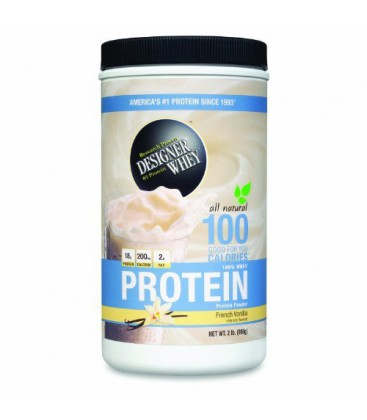 DESIGNER WHEY Protein Powder Supplement, French Vanilla, 2-P