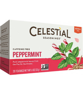 Celestial Seasonings caféine menthe poivrée Tisane 20 ch (pack de 2)