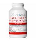 Codeage Capsules Cétones Exogènes - 240 Count - Keto Supplément régime avec BHB Sels Exogènes Cétones et la caféine Élec