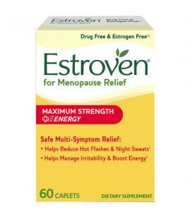 Estroven Force maximale - énergie 60 Caplets * Multi-Symptom ménopause secours *
