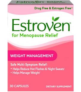 Estroven Gestion du poids et la ménopause secours Capsules 30 Ct 3 Pack
