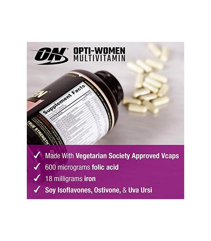 Optimum Nutrition Opti-Femmes, multivitaminé des femmes,