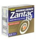 Maximum Strength Zantac 150 Acid Reducer, 65-Count Bottle