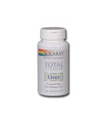 Solaray - Total Cleanse Liver, 60 capsules