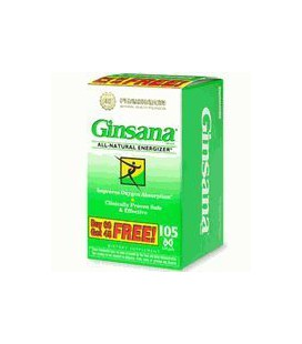Ginsana Energy 105 Softgels