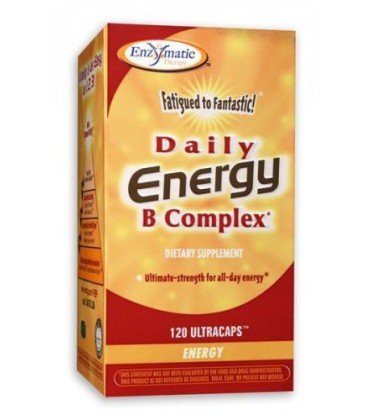Fatigued To Fantastic Daily Energy B Complex 120 Caps