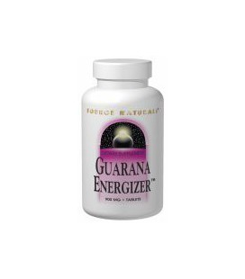Source Naturals Guarana Energizer 900mg, 100 Tablets
