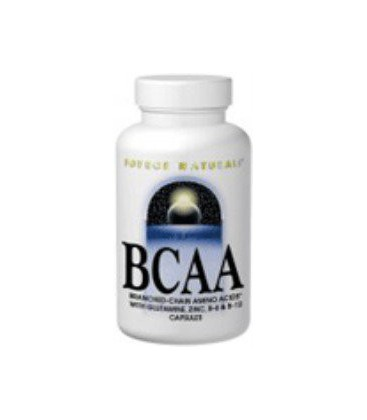 Source Naturals BCAA Branch-Chanined Amino Acids, 120 Capsul