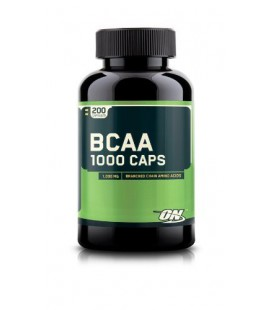 Optimum Nutrition BCAA 1000mg, 200 Capsules  (2 BOITES)