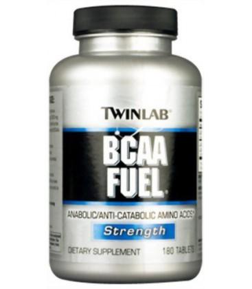 Twinlab BCAA Fuel Anabolic Anti Catabolic Amino Acids 180 ea