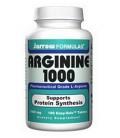 Jarrow Formulas L-Arginine 1000mg, 100 Tablets