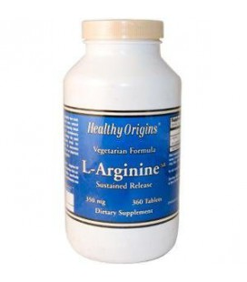 L-Arginine Sustained Release 350mg 360T 360 Tablets