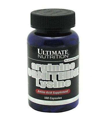 Ultimate Nutrition Arginine Ornithine Lysine Capsules, 100-C