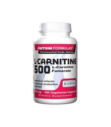 Jarrow Formulas L-Carnitine 500mg, 180 Capsules