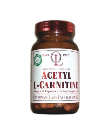 Olympian Labs Acetyl L-carnitine, 500mg