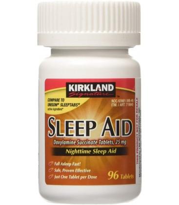 Kirkland Signature Sleep Aid Doxylamine Succinate 25 Mg X 96