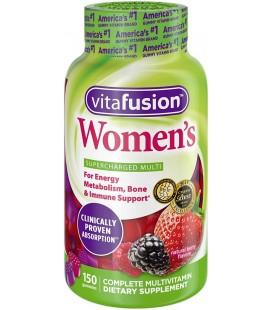 Vitamines pour femme en gommes par Vitafusion - 150 gommes