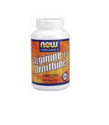NOW Foods Sports Arginine/Ornithine  500/250,  100 Capsules
