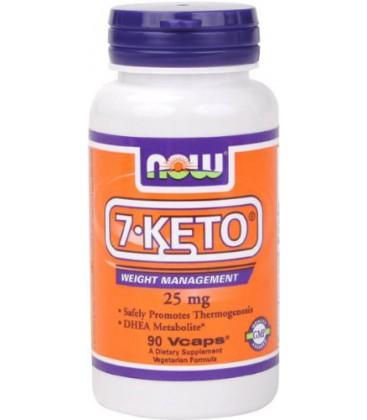 7-Keto 25mg - NOW Foods - 90 - Capsule