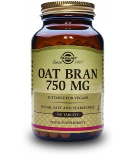 Oat Bran 750 mg - 100 Tablettes